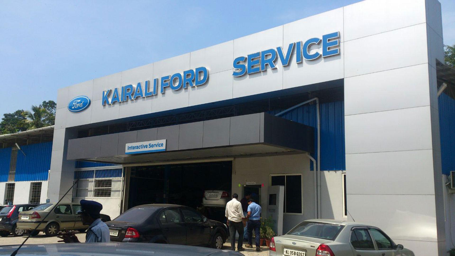 Kairali Ford Services Kerala