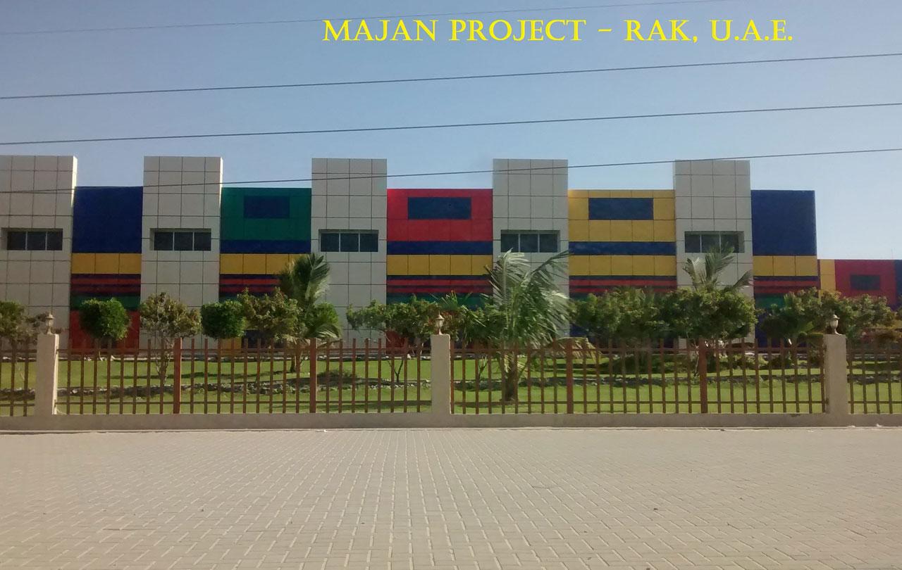 Manjan Project - Rak, U.A.E.