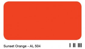 09Sunset Orange - AL 504
