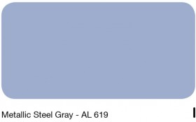 08Metallic Steel Grey - AL 619
