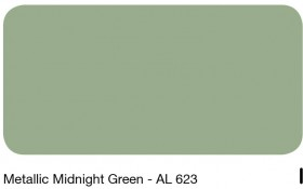 10Metallic Midnight Green - AL 623
